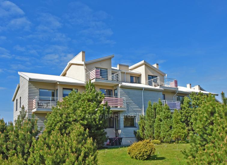 Vila Verbena in Palanga: 2-3 room apartment with balconies or terraces, kitchens. 7min by walk to the sea! - 1