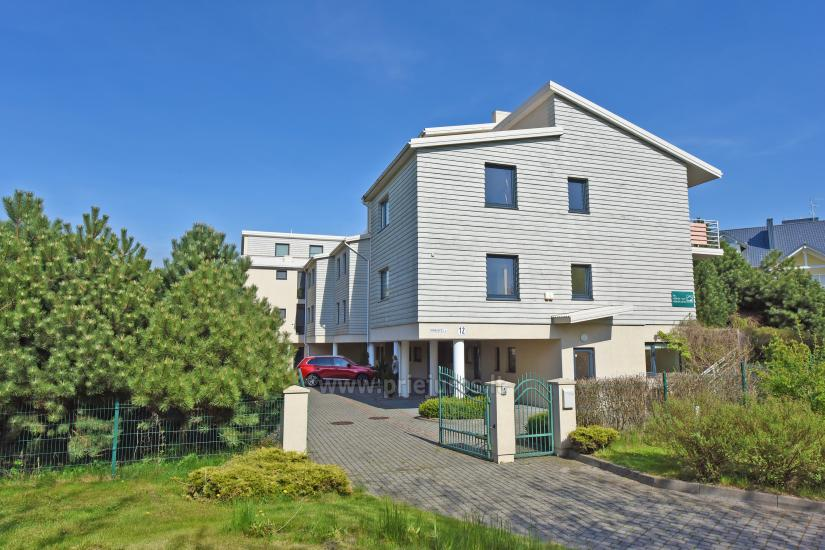 Vila Verbena in Palanga: 2-3 room apartment with balconies or terraces, kitchens. 7min by walk to the sea! - 5