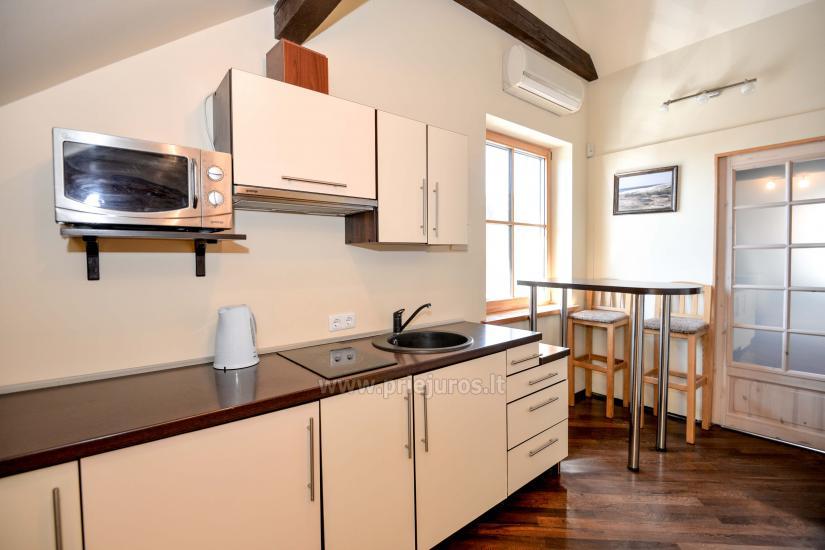 Gästehaus Nidos Gaiva 1 und 2 Zimmer -Wohnungen zur Miete in Nida. - 33