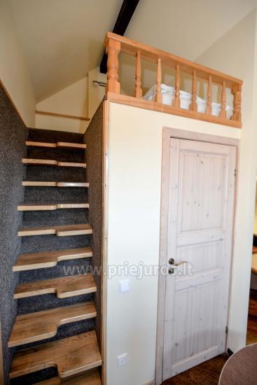 Gästehaus Nidos Gaiva 1 und 2 Zimmer -Wohnungen zur Miete in Nida. - 41