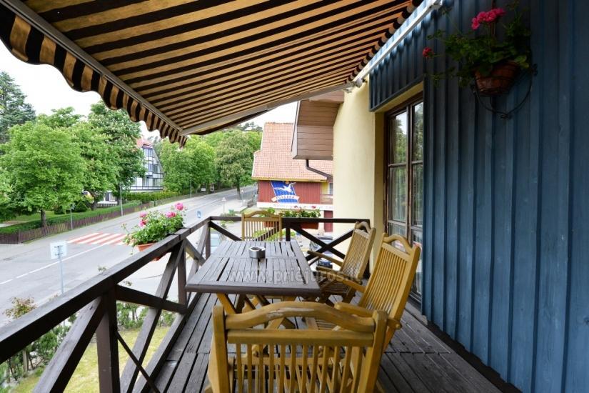 Gästehaus Nidos Gaiva 1 und 2 Zimmer -Wohnungen zur Miete in Nida. - 17