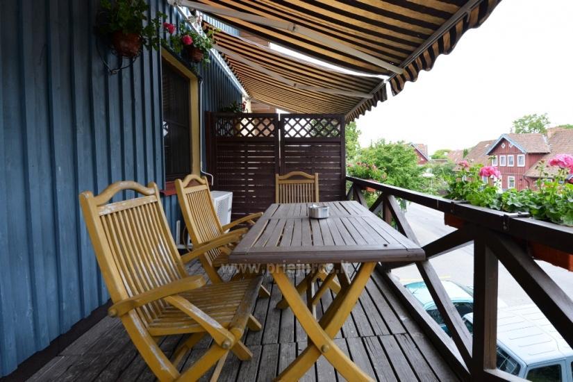 Gästehaus Nidos Gaiva 1 und 2 Zimmer -Wohnungen zur Miete in Nida. - 18