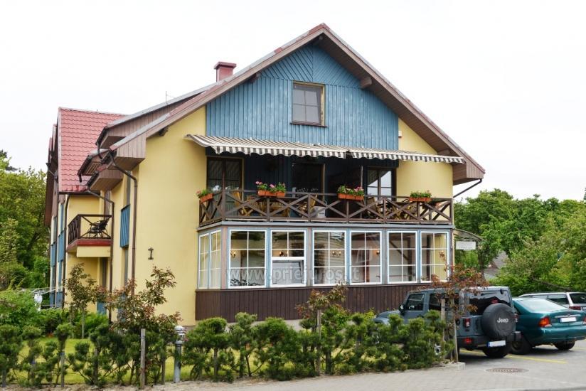 1 un 2 istabu dzīvokļu īre Nidā. Viesu nami Nidos Gaiva - 1