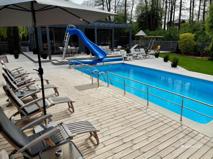 Apartments, Suites, Rooms – Villa VITALIJA in Palanga with a heated swimming pool - 23