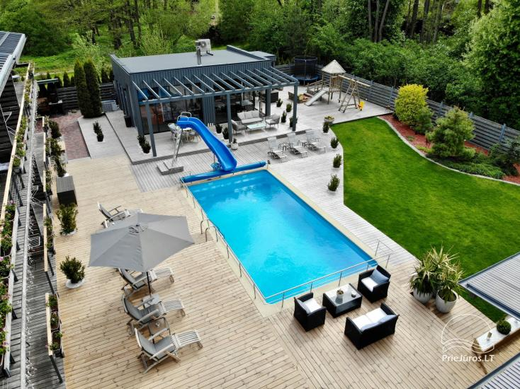 Apartments, Suites, Rooms – Villa VITALIJA in Palanga with a heated swimming pool - 24