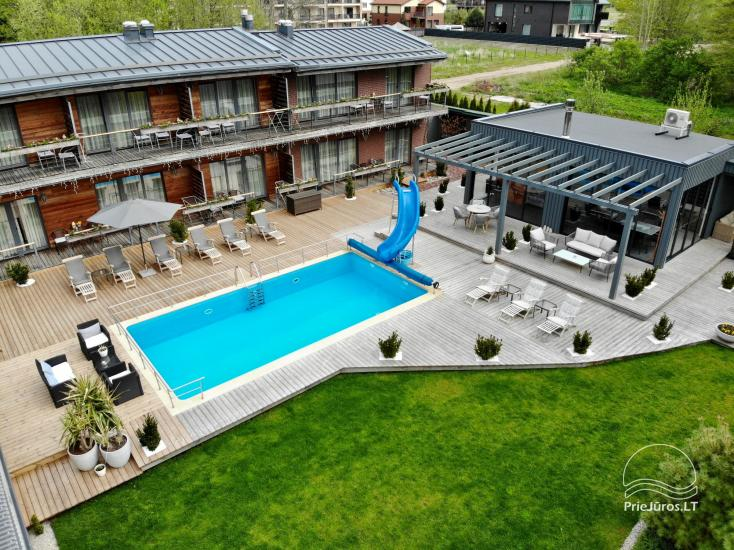 Apartments, Suites, Rooms – Villa VITALIJA in Palanga with a heated swimming pool - 25