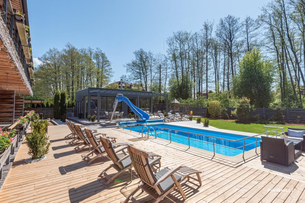 Apartments, Suites, Rooms – Villa VITALIJA in Palanga with a heated swimming pool - 6