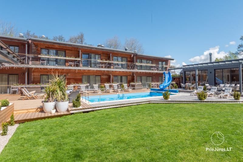 Dzīvokļi, apartamenti, numuri – Villa VITALIJA Palanga ar apsildāmu baseinu