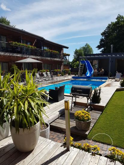 Villa VITALIJA in Palanga mit beheiztem Schwimmbad - 2