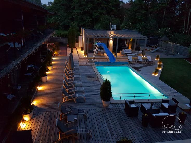 Villa VITALIJA in Palanga mit beheiztem Schwimmbad - 8