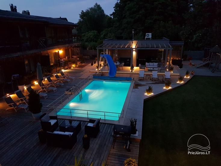 Apartments, Suites, Rooms – Villa VITALIJA in Palanga with a heated swimming pool - 9