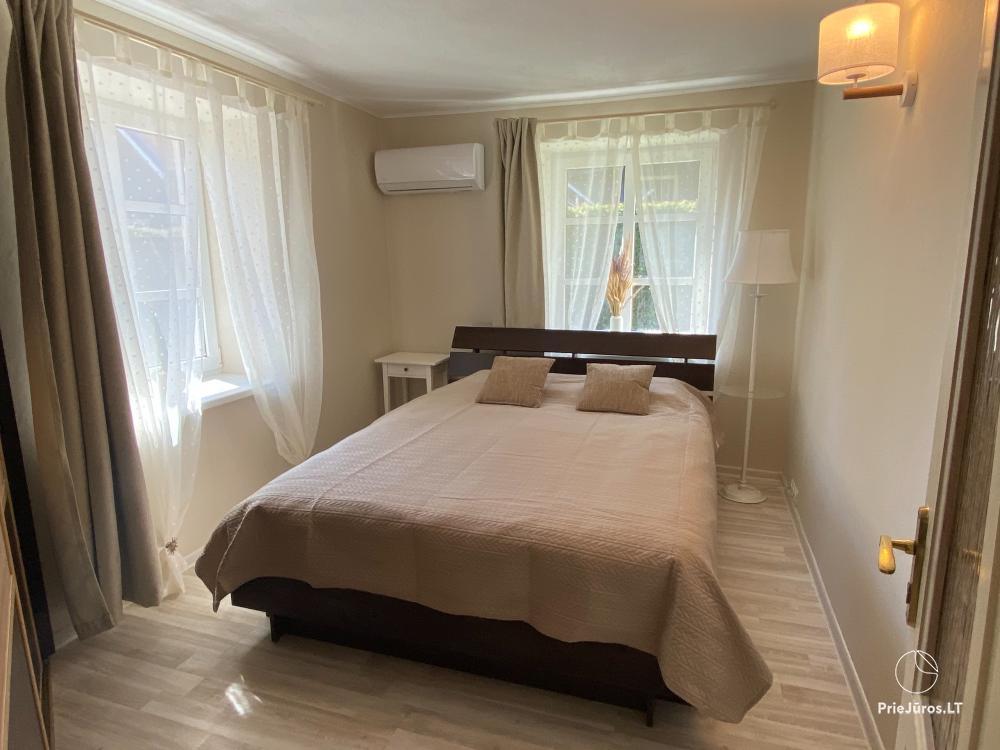 Zwei Zimmer-Wohnung im Zentrum von Nida mit privatem Garten - 4