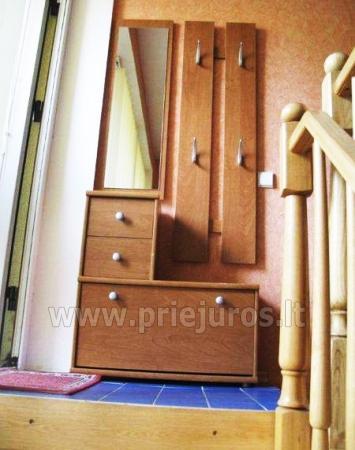 Dviejų kambarių apartamentai Juodkrantėje su terasa - 5