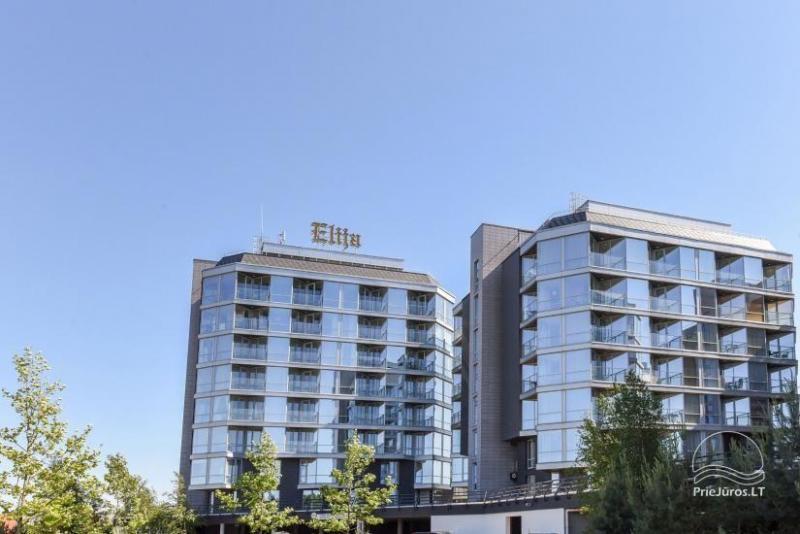 Dviejų kambarių apartamentų nuoma komplekse ELIJA, Šventojoje