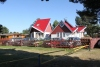 "Holiday cottages for rent in Sventoji at the baltic sea in Lithuania ""Trys pusys"""
