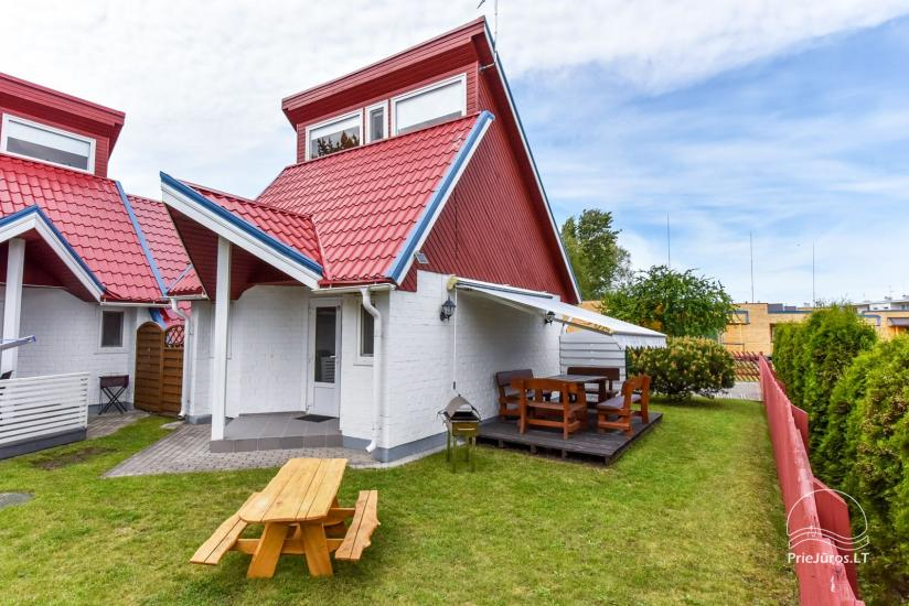 Holiday cottages for rent in Sventoji at the baltic sea in Lithuania Trys pusys - 11
