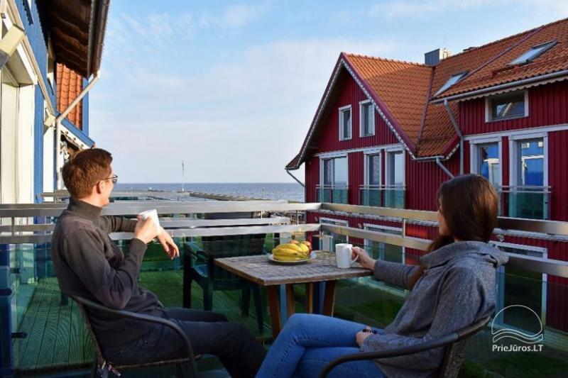 Apartamentų nuoma ant marių kranto