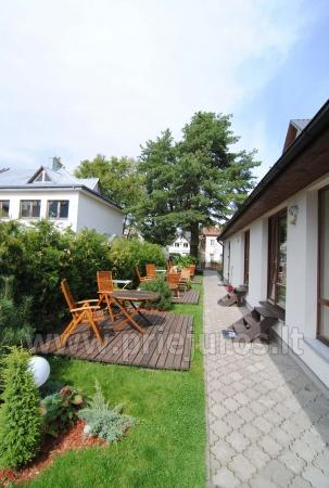 Accommodation in the center of Palanga EUROVILA - 8