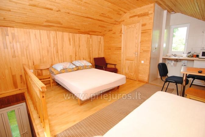 Urlaub in Palanga, nahe am Meer. Zimmer mit Annehmlichkeiten in einer privaten Villa - 3