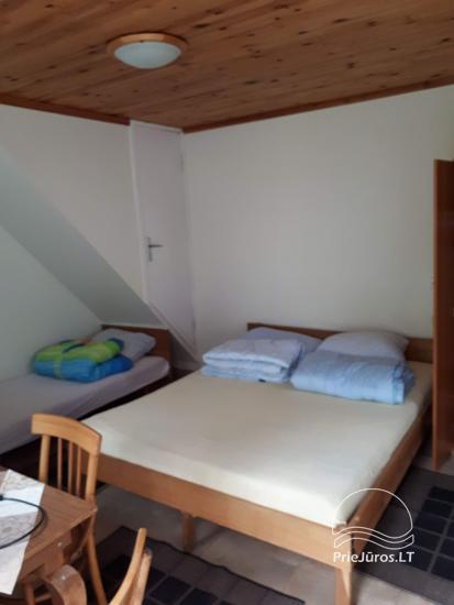 Urlaub in Palanga, nahe am Meer. Zimmer mit Annehmlichkeiten in einer privaten Villa - 9