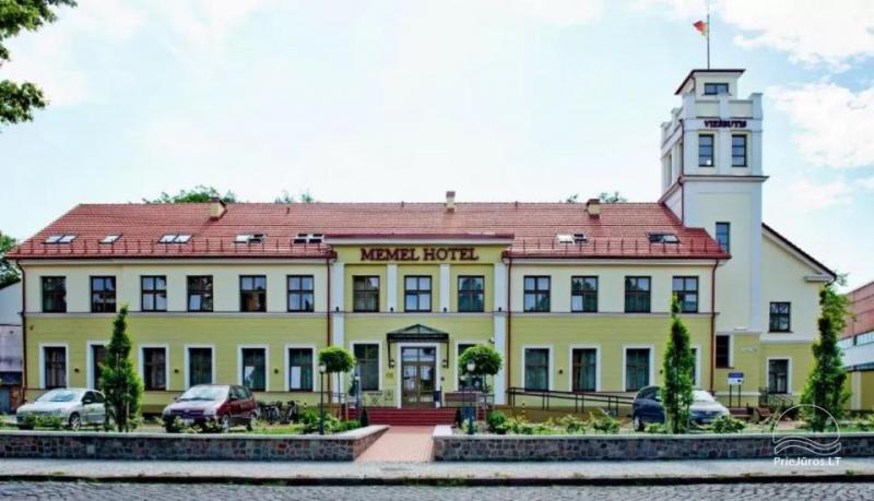 MEMEL HOTEL Viešbutis Klaipėdos senamiestyje, patogioje vietoje, šalia lankytinų objektų, teatrų, restoranų, miesto pramogų
