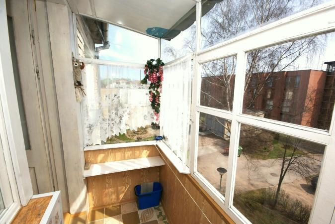 2 kambarių butas su įstiklintu balkonu Palangoje - 7