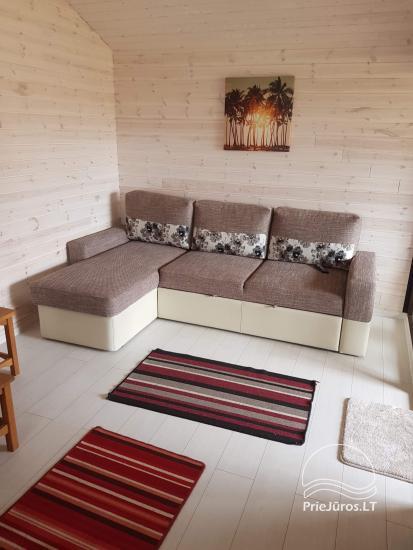 Ferienhäuser aus Holz zu vermieten in Sventoji. Baltic Sea Waves. - 7