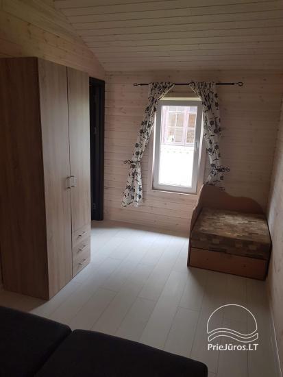Ferienhäuser aus Holz zu vermieten in Sventoji. Baltic Sea Waves. - 10