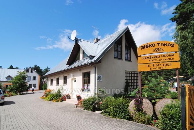 Anwesen in Sventoji Audrones sodyba - Zimmer, Appartements, Ferienhutte - 25
