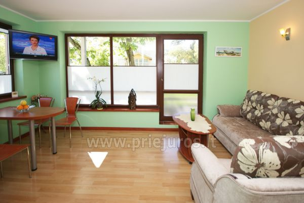 1 room condo rent in Juodkrante with balcony, Curonian spit, Lithuania - 2