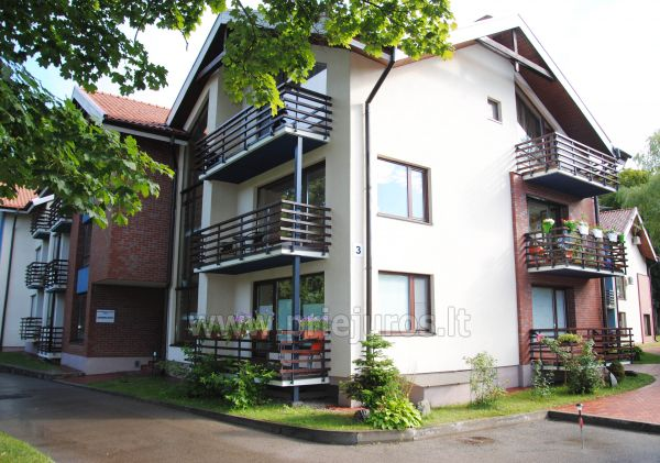 1 room condo rent in Juodkrante with balcony, Curonian spit, Lithuania - 10