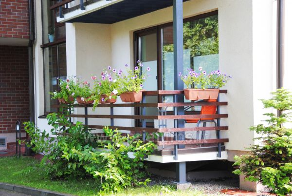 1 room condo rent in Juodkrante with balcony, Curonian spit, Lithuania - 8