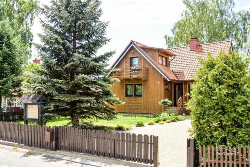 Holiday in Pervalka Family villa - house rental and apartment rental