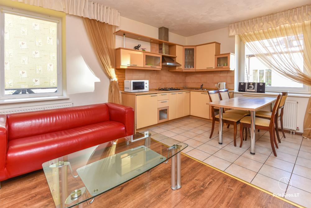 3-room apartment in Palanga (up to 6 persons). 2 balconies, 2 bathrooms, garage - 3