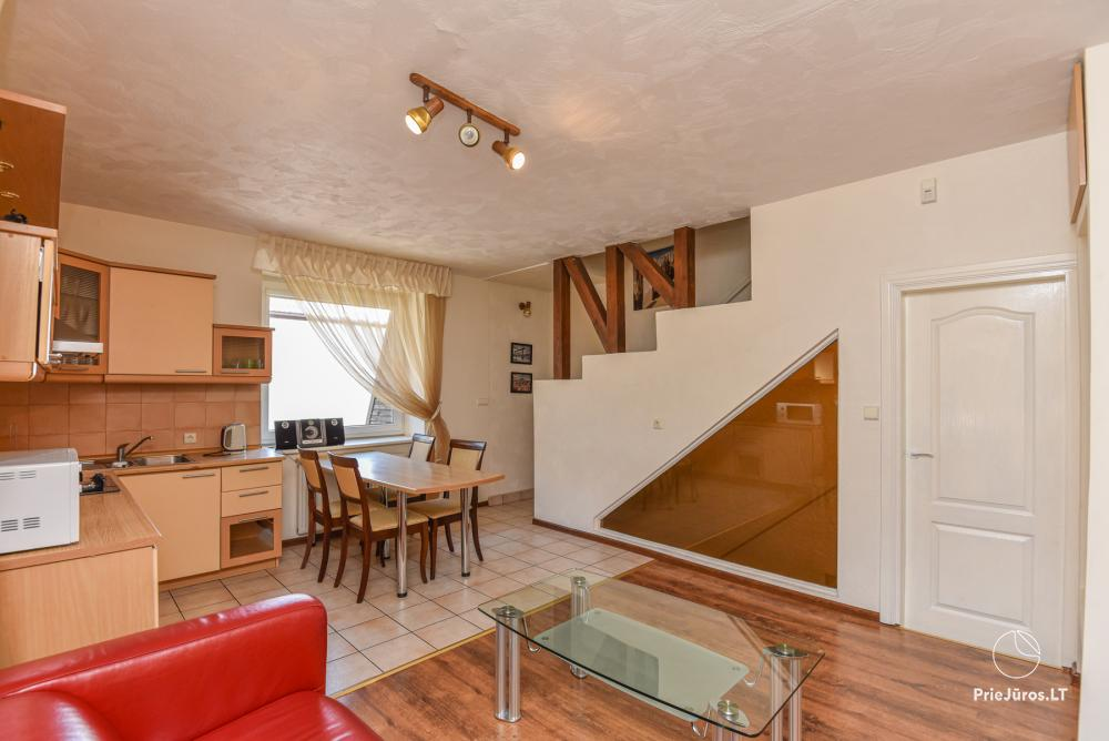 3-room apartment in Palanga (up to 6 persons). 2 balconies, 2 bathrooms, garage - 2