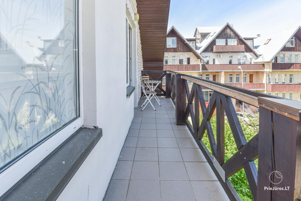 3-room apartment in Palanga (up to 6 persons). 2 balconies, 2 bathrooms, garage - 11