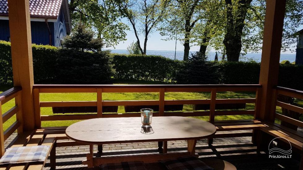 Namo nuoma Juodkrantėje. Privatus kiemas, terasa su vaizdu į marias - 2