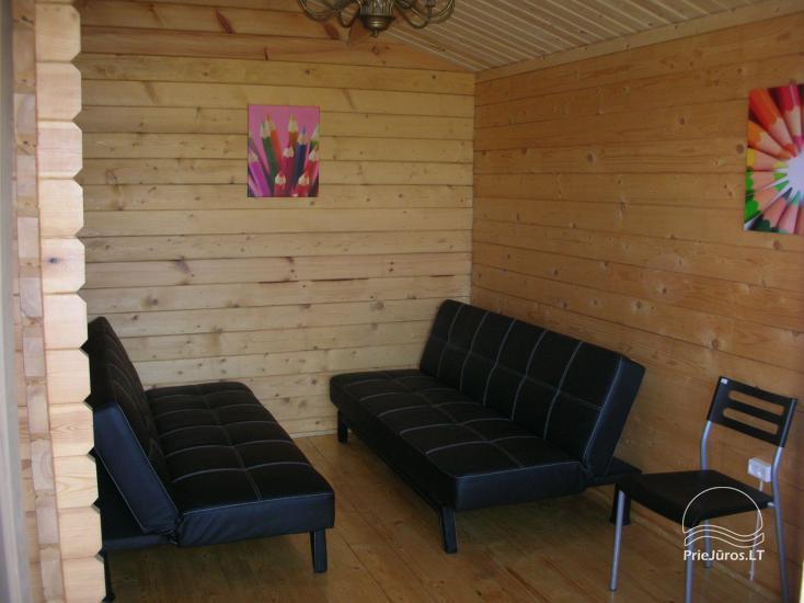 Kambarių, namelių nuoma Palangoje (Kunigiškėse) - 13