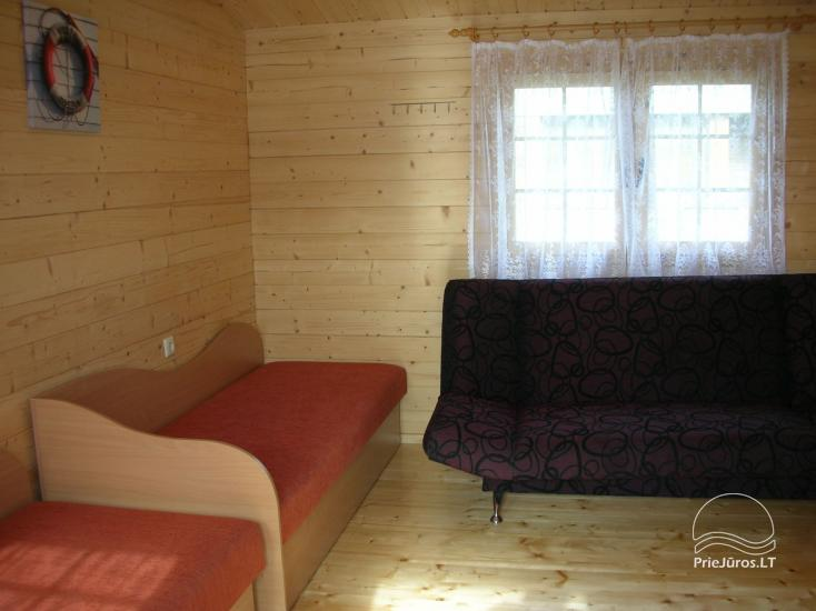Kambarių, namelių nuoma Palangoje (Kunigiškėse) - 16