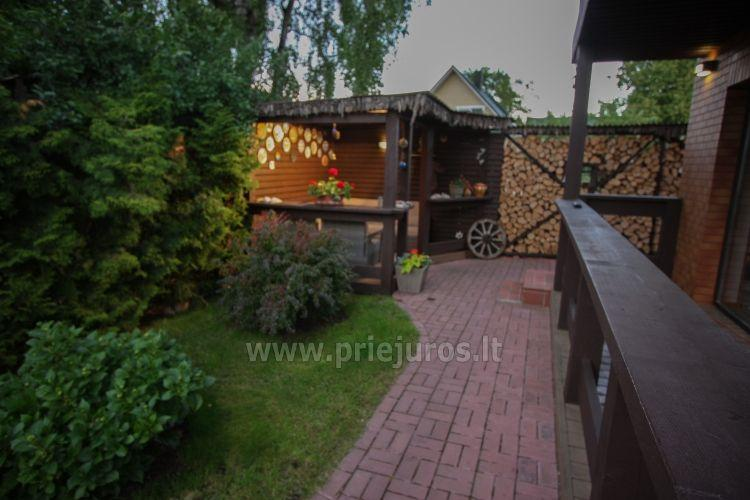 Luxury villa for rent in Palanga center VILLA GUDORA – private yard, 400 m to the sea - 7