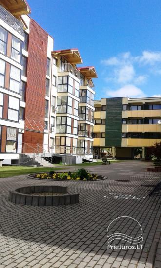 Palangos centre nuomojami 2 kambarių apartamentai - 9