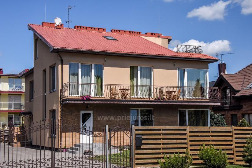 Numuri un apartamenti Palangā, viesu nami  Smilga - 2