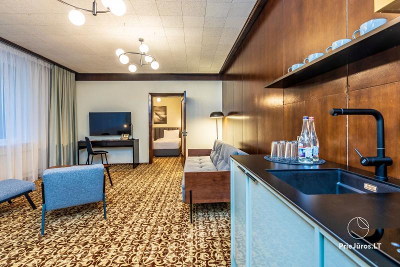 Žilvinas Hotel Palanga – 2-3 kambarių apartamentai vos 200 m iki jūros!