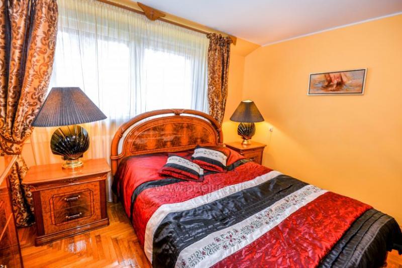 Trijų kambarių buto  ir kotedžo nuoma Nidoje
