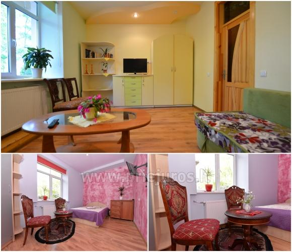 2-room condo, room with separate entrance in Palanga