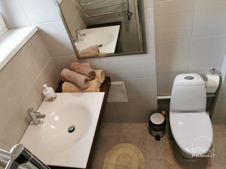 Naujai įrengtų apartamentų nuoma. Tik 40 metrų iki jūros! - 4
