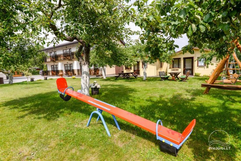 New holiday cottages with outdoor furniture for rent in Sventoji - 5