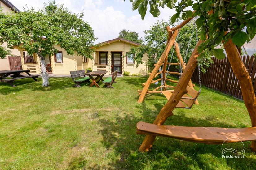 New holiday cottages with outdoor furniture for rent in Sventoji - 6