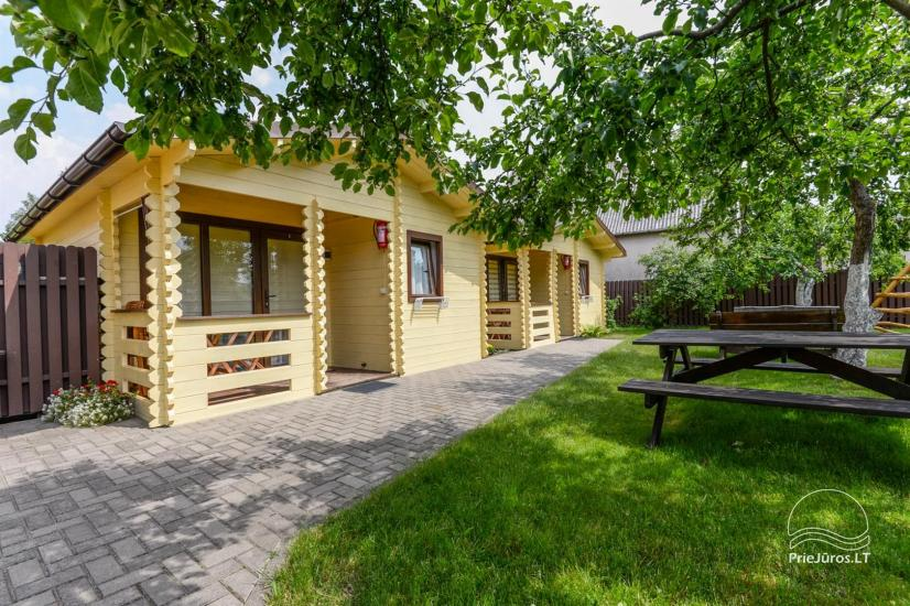 New holiday cottages with outdoor furniture for rent in Sventoji - 8