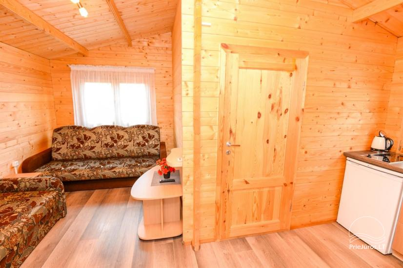 New holiday cottages with outdoor furniture for rent in Sventoji - 10